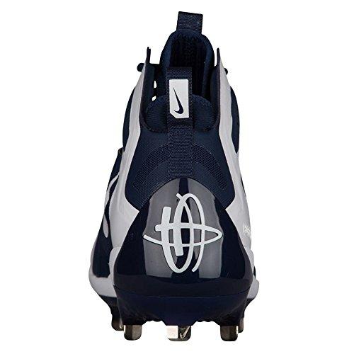 NIKE Alpha Huarache Elite Mens 923428-412 College Navy/White-white hot sale sale online x4ux2tQ