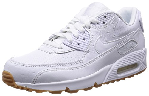 White Weiß 111 Brown Air PA Nike Sneaker Max Gum Herren White Leather White Light 90 0wwPU7gq