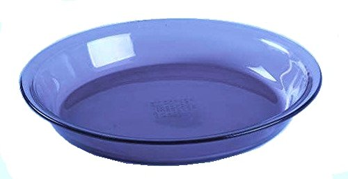 Corning Ware / Pyrex Originals Cobalt Blue Pie Serving Plate ( 9 inch Dia ) ( 209 )