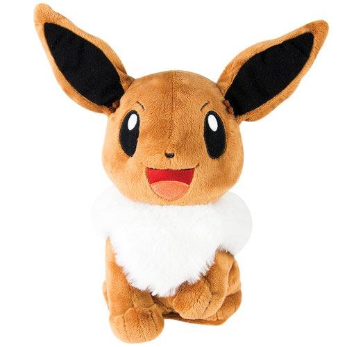 Eevee Pokemon Plush - Pokémon My Friend Eevee Feature Plush