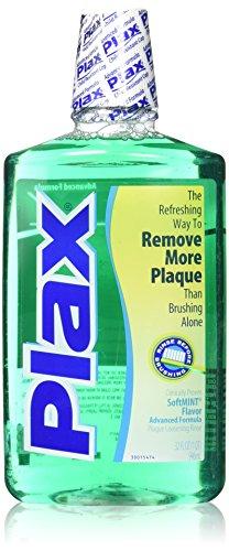 - Plax Advanced Anti-Plaque Dental Rinse, Soft Mint, 32 Ounce