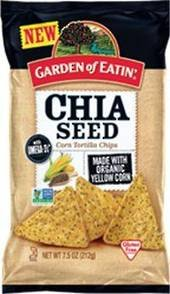 Amazoncom Garden of Eatin Chia Seed Tortilla Chips Case of 12