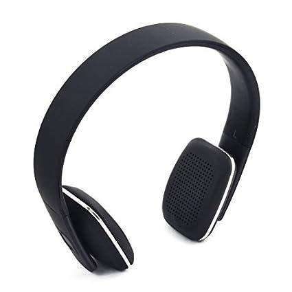 eDealMax Reducción de ruido estéreo Tablet PC inalámbrica Bluetooth Headset Negro w Cable USB