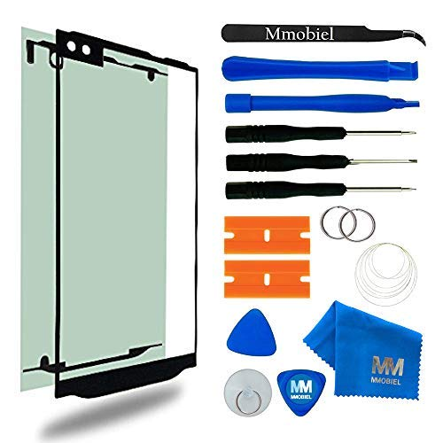 MMOBIEL Front Glass Replacement Compatible with LG V10 Series 5.7 Inch (Black) Display Touchscreen incl Tool Kit
