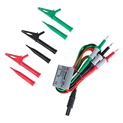 Megger 3 Wire Test Lead Set (Red/Black/Green Probes, Leads