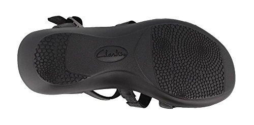Black Jacoby Heel Sandals Shelba Women's Mid Clarks Yw6nz7qTq
