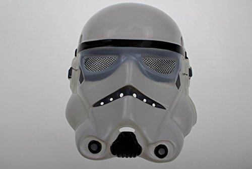 D-drempating Star Wars StarWars Darth Vader Stormtrooper selection cosplay costume mask face mask cosplay Christmas Halloween costume fancy dress (white Stormtrooper) pa124