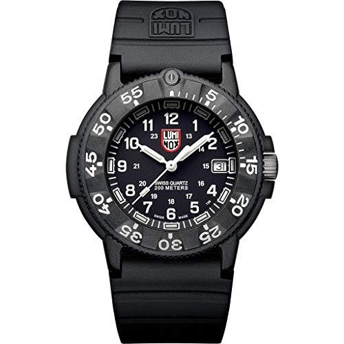 Luminox Wrist Watch Navy Seal Original Automatic 3001 - Back - 43mm Mens Watch