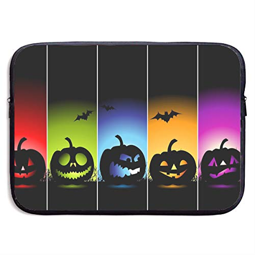 Ysikfk 13-15 Inch Protective Sleeve Bag with Cool Pumpkin Halloween Printing Design Fits Laptop, Tablet]()