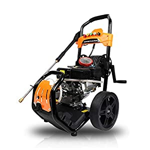 X-BULL Gas Pressure Washer Kit 6.5HP 210cc Washer Pressure System with Power Spray Gun,65ft Flex Hose and 5 Nozzles,OHV…