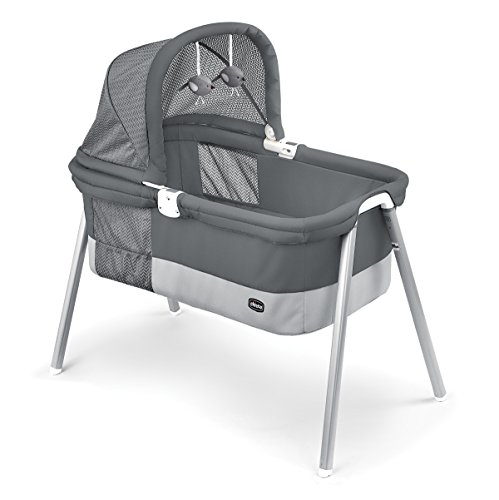 Chicco LullaGo Deluxe Portable Bassinet, Charcoal For Sale