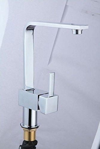 NewBorn Faucet Wasserhähne Warmes und Kaltes Wasser Größe Qualität Küche Wasser Pull-Down Dicke verGoldete Quartett Waschbecken Mischbatterie