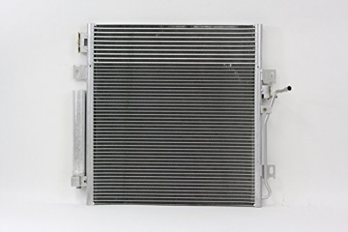 A-C Condenser - Pacific Best Inc For/Fit 3683 08-12 Jeep Liberty Automatic Transmission V6 3.7L w/Transmission Oil Cooler Parallel Flow Receiver & Dryer