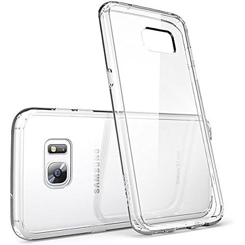 Galaxy S7 Edge Case, [Scratch Resistant] i-Blason **Clear** [Halo Series] Samsung Galaxy S7 Edge Hybrid Bumper Case Cover 2016 Release (Clear (Anti-Scratch)) Sales