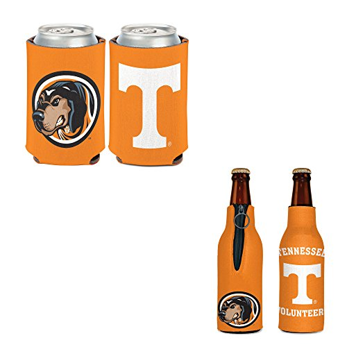 (WinCraft Bundle - 2 Items: University of Tennessee Bottle Cooler and Can Cooler )