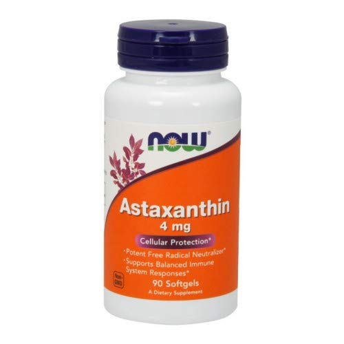 Now Foods Astaxanthin 4 mg - 90 Sgels 6 Pack