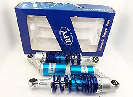 """RFY 2PCS New 10.4/"""" 265mm Suspension Rear Shock Absorber Motorcycle for YAMAHA red"""