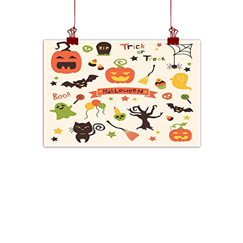 Mannwarehouse Light Luxury American Oil Painting Halloween Party