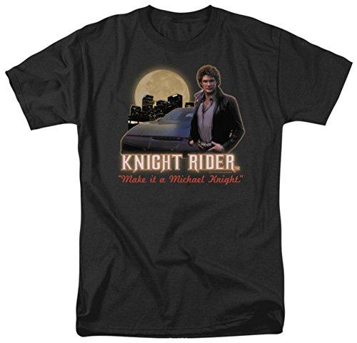 Men's Make It A Michael Knight T-shirt, large