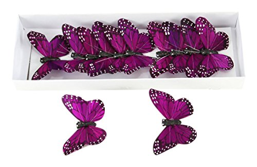 - Shinoda Design Center 0165500210 12 Piece Butterfly Decor, 3