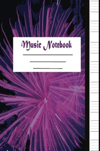 Music Notebook: Blank Music Manuscript: 8 Musical Staves in Each Page: 100 Pages Stuff Paper Journal for Music Creating & Song Writing (Classical) (Volume 1) (How To Really Play The Piano)