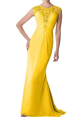 Topkleider - Vestido - para mujer dorado