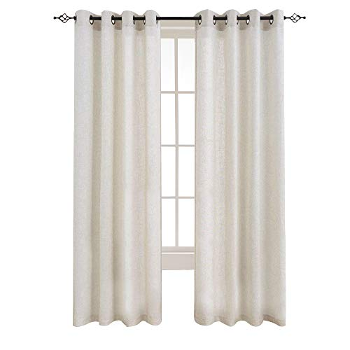 Linen Curtains For Living Room Grommet Window Darkening