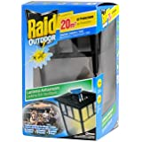 Raid Outdoor lanterne anti-moustiques 20m² de protection