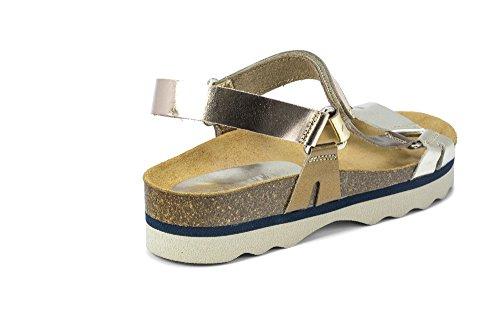 Privata Women's Aventura Open Toe Sandals Several Colours (Gold / Pink 001) mx5RQa