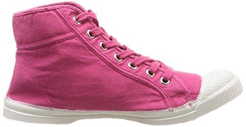 Bensimon Mid Femme Damen Sneaker Rosa - Rose (Rose Foncé 472)