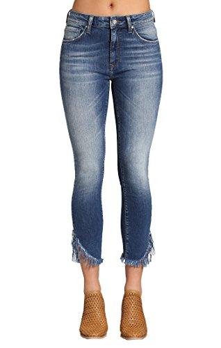 In Worn Mavi Jeans (Mavi Women's Tess High-Rise Super Skinny Jeans, Extreme Ripped Vintage, 32W X 27L)