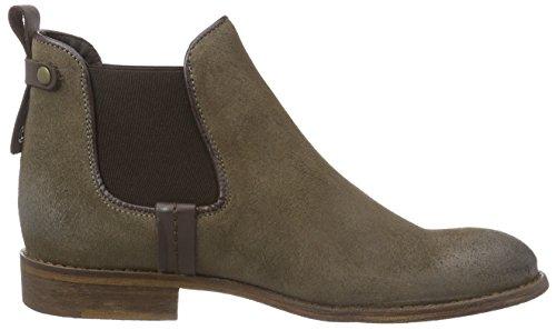 Mustang Chelsea Boot - botines chelsea de cuero mujer marrón - Braun (308 erde)