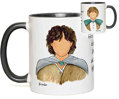 Amazon Com Lord Of The Rings Mug Frodo Baggins Sam Gamgee Hobbit Quote Fan Gift Handmade