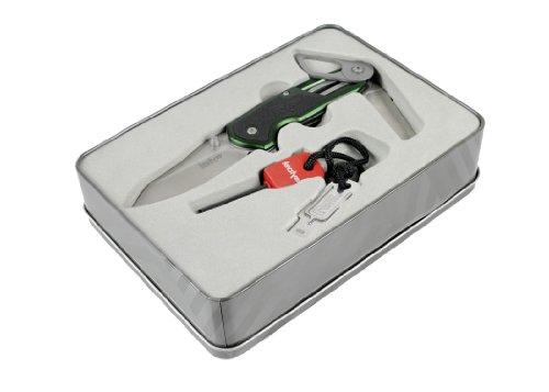 Kershaw Funxion Knife and Firestarter Gift Set, Outdoor Stuffs