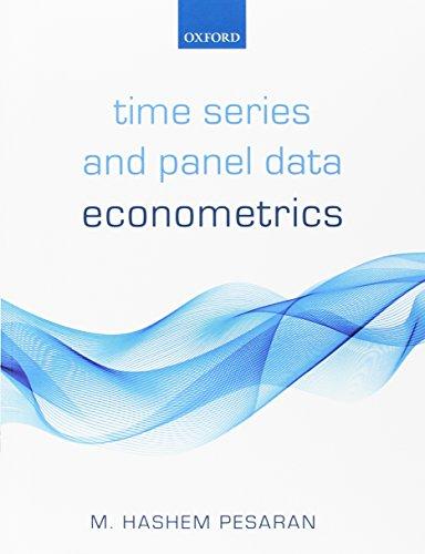 Time Series and Panel Data Econometrics (Time Panel)