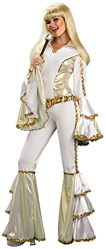 Disco Mama Costumes (Disco Queen Adult Costume (One Size up to Size 12))