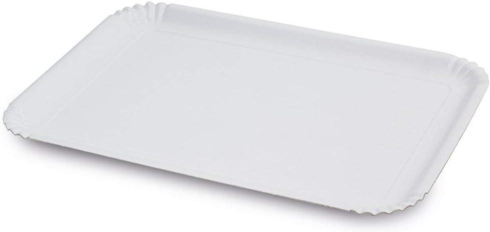 Polistirene Colore trasparente Guardini Monouso 2 vassoi ovali 46x23cm