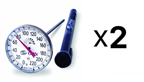 CDN IRXL220 ProAccurate Insta-Read Large Dial Cooking Thermometer - Set of - Insta Thermometer Read Proaccurate