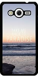Funda para Samsung Galaxy Core 2 SM-G355 - Llévame De Vuelta Al Paraíso Iii by Tara Yarte Photography & Design