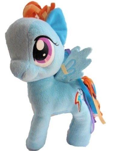 My Little Pony Friendship Is Magic 11 Plush Figure Rainbow Dash by Hasbro (My Little Pony 11 Plush)