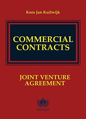 Commercial Contracts: Joint Venture Agreement (Commercial Contracts Series Book 11) (Contract Templates Agreement)