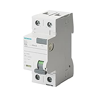 Siemens 5SV U2013 Klasse A Differential Schalter 2 Polig 40 A 30 MA 70 Mm