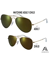Adult + Kids Matching Pairs - Aviator UV Polarized...