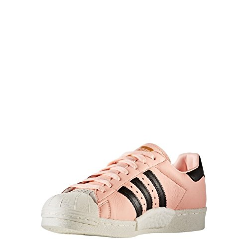 Scarpe adidas – Superstar corallo/nero/bianco formato: 42