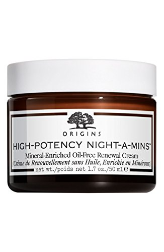 (Origins High Potency Night-A-Mins Mineral Enriched Renewal Night Cream 1.7 Ounce Unbox)