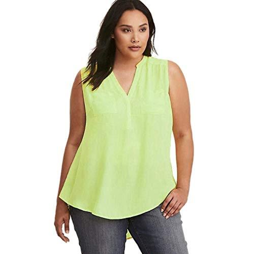 Violet Couleur Loose Solde féminine Soldes Vert Blouse grande Wear Business X large Liquidation Mode Zhrui Taille Plus taille pU7q7On
