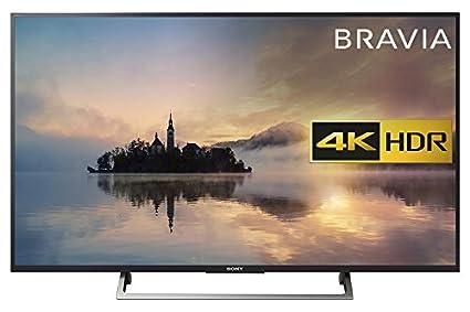 "55ebea3e0388 Sony Bravia KD55XE7093BU 55"" 4K HDR Smart TV (2017 exclusive model) -  Black"