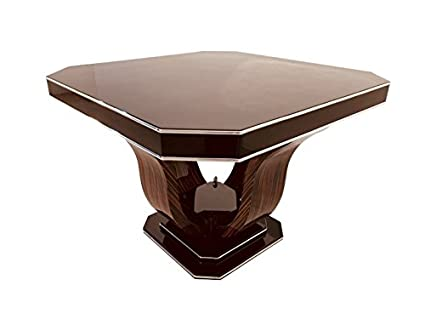 Image Unavailable Not Available For Color OAM Octagonal Art Deco Dining Table