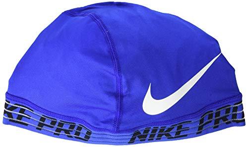(Nike PRO Skull Cap 2.0 OSFM Game Royal/Black/White)