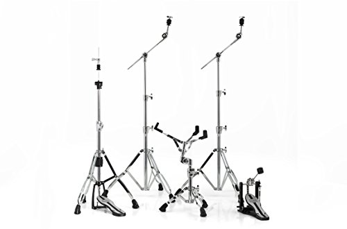 MAPEX HP6005 Mars 600 Series Hardware Pack with P600 Single Pedal, (Black Drum Hardware)